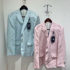 Ralph Lauren linen blazers